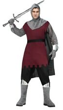 Polyester Red Medieval & Gothic Costumes
