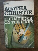 The Murder on the Links - Agatha Christie - Hercule Poirot - Vintage 1976 Pan L2