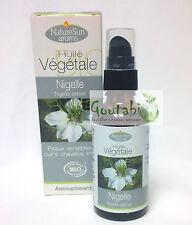 NatureSun Aroms - Huile Végétale de Nigelle Bio - 50 ml