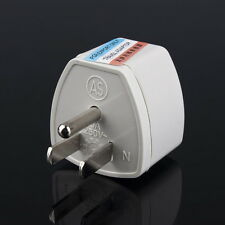 AU UK EU to US AC Power Plug Adapter Adaptor Converter Outlet Home Travel Wall#8