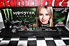 BRITTANY FORCE  2016 ACTION TOP FUEL DRAGSTER MONSTER ENERGY AUTOGRAPHED NHRA