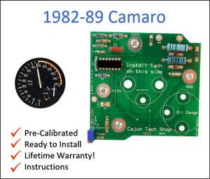 1982-1989 Camaro V8 Tachometer circuit board, LIFETIME WARRANTY!