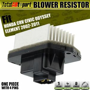 AUTEX HVAC Blower Motor Assembly Compatible with Honda Civic 2001-2005,Honda Cr-v 2002-2006 Replacement for Honda Element 2003-2011 Blower Motor 700005 79310S5DA01