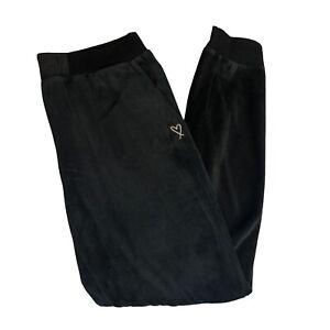 Victoria Secret Women's Tracksuit Bottoms Trousers Joggers Black Size: Small