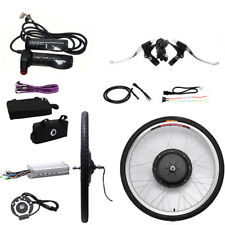 Electric E Bike 1000W 48V Conversion Kit 26 inch Front Wheel Motor Bicycle Hub