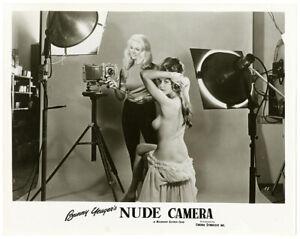 RARE Bunny Yeager NUDE CAMERA 1963 Archive Original Movie Still Photograph PinUp