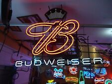 Huge Budweiser Neon Beer Light Sign Big Man Cave Sale Check It Out Wow