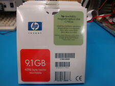 Qty 5  Pieces  of HP  C7983A 9.1GB Re-writable MO Disk EDM-9100B EDM-9100C