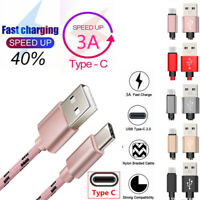 For Xiaomi Redmi Note 9S 9 Pro 8T 8 Pro USB Type C Fast Charge Phone Data Cable