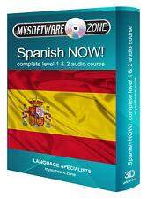 Aprender + hablar español ahora! completo de nivel 1 2 Audio Curso De Lengua Mp3 Cd De Regalo