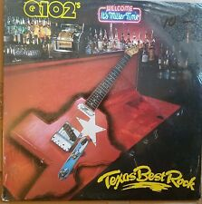Q102 TEXAS BEST ROCK - VARIOUS ARTISTS dallas ft. worth texas 80's radio comp LP