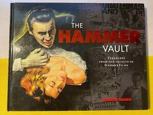 THE HAMMER VAULT - TREASURES FROM THE HAMMER ARCHIVE - 2011 HARDBACK - VGC