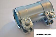 Rohrverbinder/Doppelschelle 60mm x 125mm  Audi 80/90/100/200/A4/A6/A8, VW, uvm..