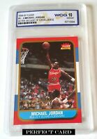 MICHAEL JORDAN 1996 FLEER #U-4 WCG 10 ULTRA DECADE OF EXCELLENCE / SHARP GEM-MT