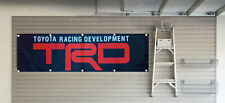 TRD Flag Toyota Racing 2X8FT Banner US Shipper