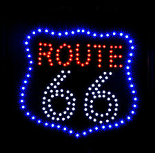 XXL LED ROUTE 66 -  ( 3 )  Schild|Leuchtreklame|Stopper|Neon|Werbung/- NEU