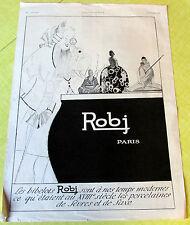 ROBJ / AMATEUR / LOUPE / 1924  / MOBILIER / PUBLICITE ANCIENNE