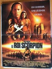 AFFICHE - LE ROI SCORPION THE ROCK