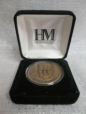 Chipper Jones Atlanta Braves Highland Mint Solid Bronze Series Medallion Coin