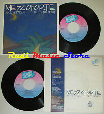 LP 45 7' MEZZOFORTE NOEL MCCALLA This is the night Blue ice 1986 italy cd mc dvd