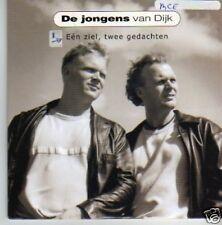 (491P) De Jongens Van Dijk, Een Ziel, Twee...- 2000 CD