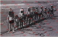 Postcard, Helmet diving, deep sea Diver, scaphandrier, palombaro, repro - # 4