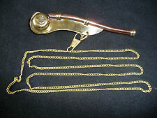 Bosun's Whistle Dog NEW Pipe Call Sailor Present Gift Men Scout Boatswain Marine