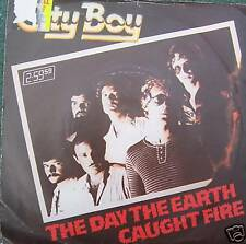 "CITY BOY - The Day The Earth Caught Fire ~ 7"" Single PS"