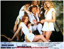 MOONRAKER 8 Photos Cinéma / Lobby Cards JAMES BOND / 007/ ROGER MOORE