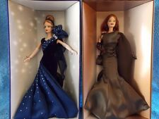 "Lot of 2 Embassy Waltz Barbie"" & ""Club Couture Barbie""  Members Choice NRFB"