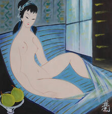 Excellent Chinese Scroll Painting  By Lin Fengmian P201 林风眠