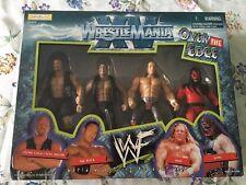 WWE Jakks Wrestlemania 4 pack RARE MIB Austin