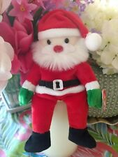 TY Beanie Baby ~ SANTA Claus Christmas #4203 from 1998 New & Retired