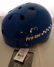 Pro-Tek Classic Skate Retro Helmet - Gloss Blue small/54-56 cm