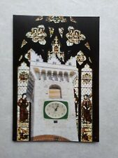 Original Collage Art (Postcard Size) by Joyce and Vicky 'Clock Tower'