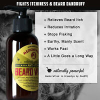 Medicine Man's Anti-Itch Beard Wash - 100% Natural & Organic Beard Growth