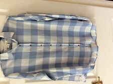 H&M Women's Check Cotton Tops & Shirts