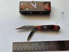 "Steel Warrior SW-107 RWJ 2 7/8"" Pocket Knife Stainless Steel Blades With Bone Ha"