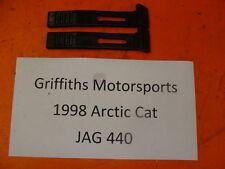 99 ARCTIC CAT JAG 440 fan 340? Z? 00 01 RUBBER HOOD LATCH STRAPS SET STRAPS ZR