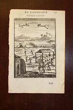 ✒ 1683 MANESSON MALLET Sucrerie ESCLAVAGE Martinique ou Guadeloupe