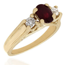 Ruby and Diamond Ring in Gold