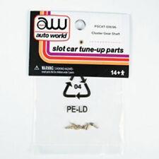 Auto World XTraction Chassis Parts Cluster Gear Shaft Rivet Ho Slot Car PSCXT...