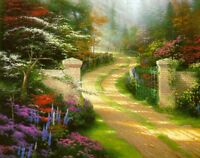 SPRING GATE by Thomas Kinkade SOLD OUT EDITION