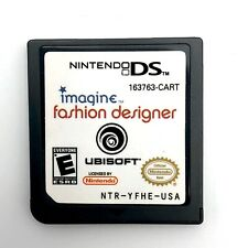 Nintendo DS Imagine Fashion Designer DS/DS2/DS3 Game Cartridge Only