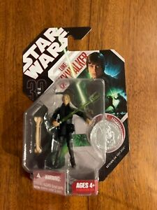 Hasbro Star Wars 30th Anniversary 30-25 Luke Skywalker Jedi Knight 2007