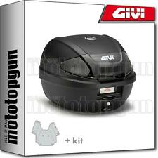 GIVI TOP CASE E300NT2 + PORTE-PAQUET PIAGGIO VESPA GTS 125 2010 10 2011 11