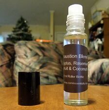 Exhaustion Blend Essential Oil Blend 10ml Rollerball - Free Shipping