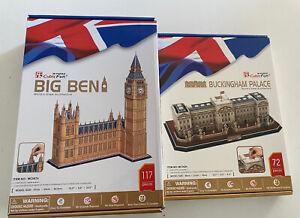 CubicFun 3D Puzzle Jigsaw London -  Big Ben & Buckingham Palace.