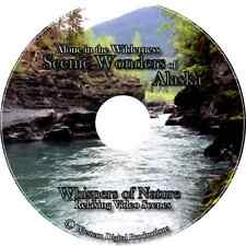 DVD Alone in Wilderness Relaxing Alaska Ambient Glacier Nature Mountain Video