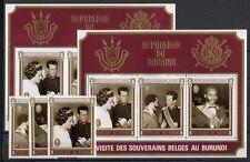 Burundi - 1970 - Visita dei Sovrani del Belgio - MNH
